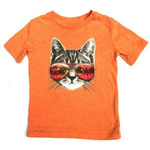 ♛5/$25♛ Jumping Beans Cat T-Shirt Orange Top 4